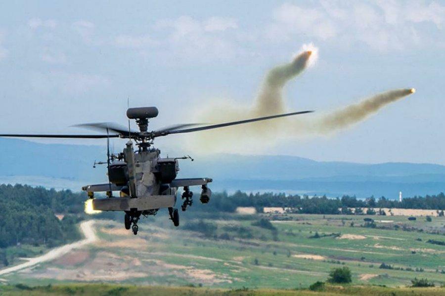 Неизвестная система РЭБ сожгла систему американского вертолета Apache
