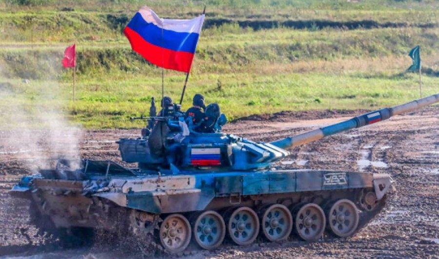 Первые! Российские танкисты стали чемпионами в «Танковом биатлоне» на АрМИ-2021